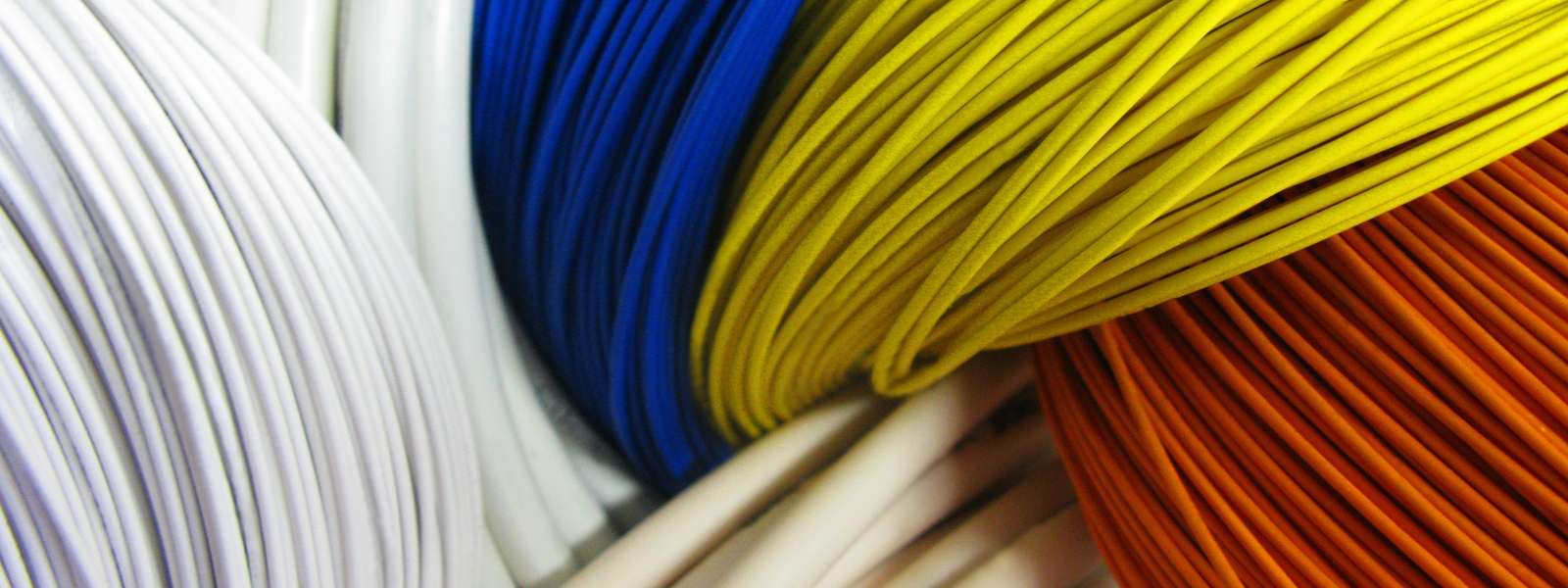 Image of various flexible cable coils