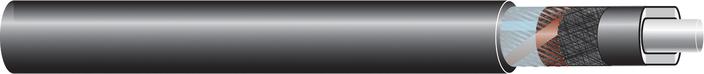 Image of 33 kV single core cable XLPE-AL-RMP-CS-ST,  CU screen cable