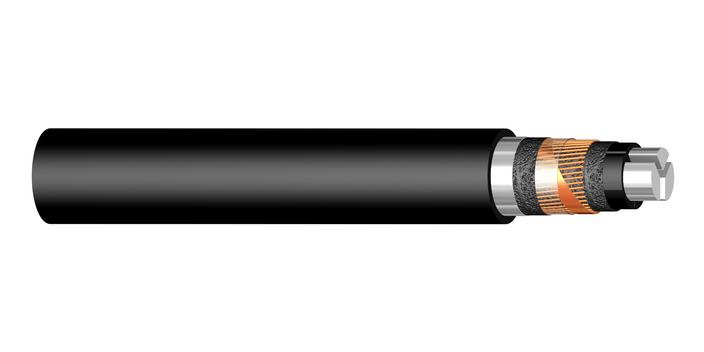 Image of 3-core PEX-S-AL 12 kV cable
