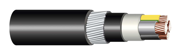 Image of 1-CYKYDY cable