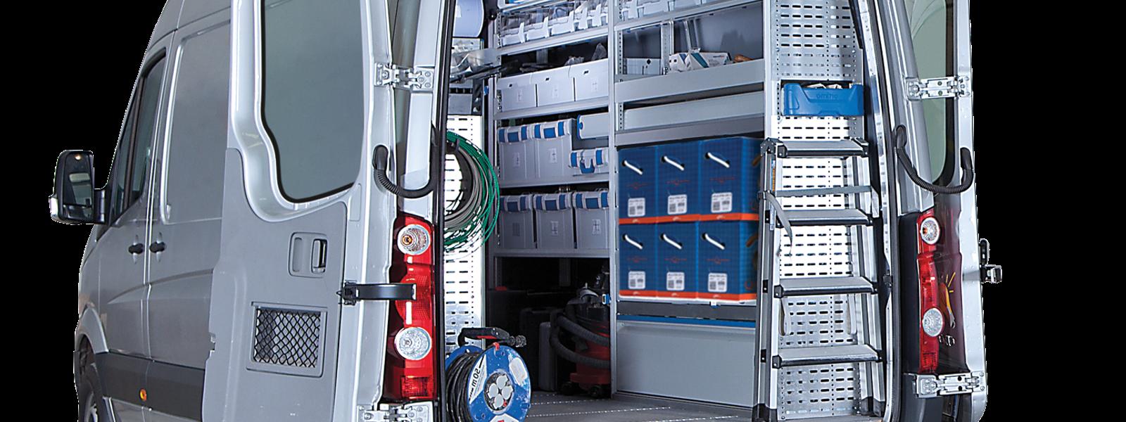 Image of electrician van