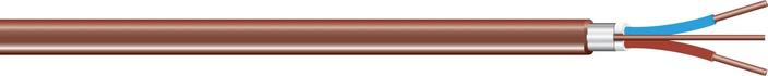 Image of PR brun, limt skjerm cable